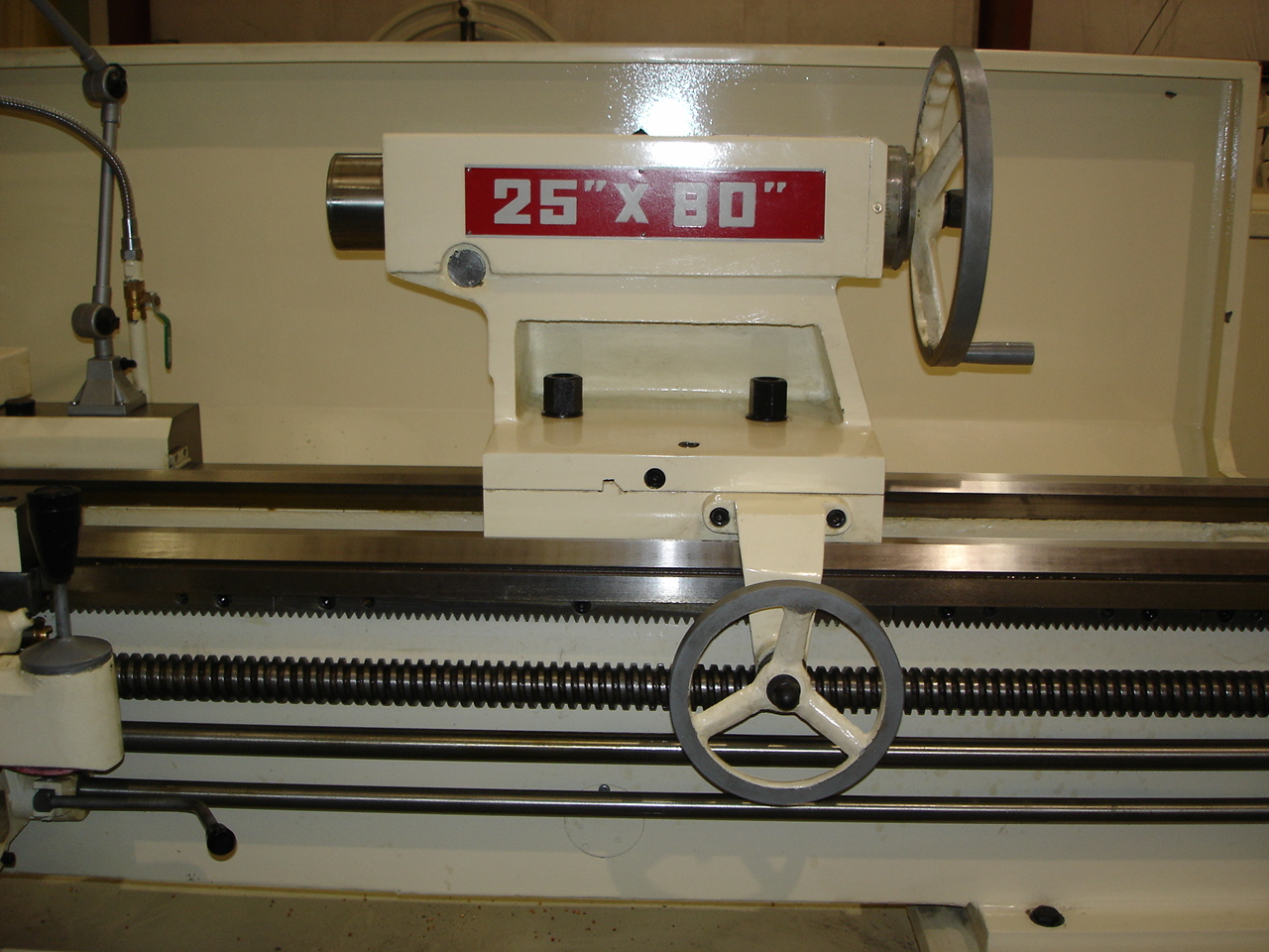 "Manual Lathe D-25"" Tailstock"