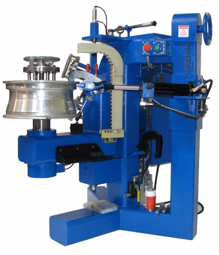 Alloy wheel straightening equipments